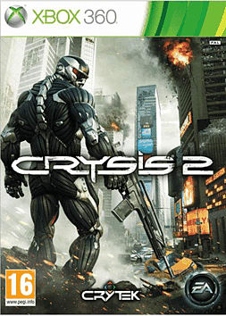 Crysis 2 Xbox 360 Cover Art
