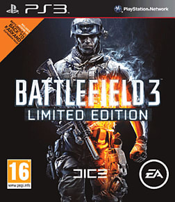 Battlefield 3 Limited Edition PlayStation 3 Cover Art