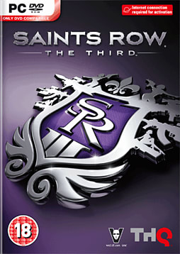 Saints Row the Third PC Games Cover Art