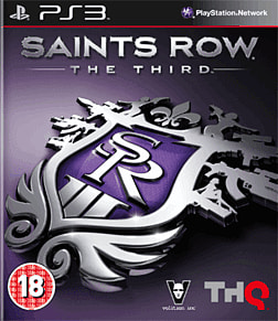 Saints Row the Third PlayStation 3 Cover Art