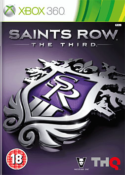 Saints Row The Third Xbox 360 Cover Art