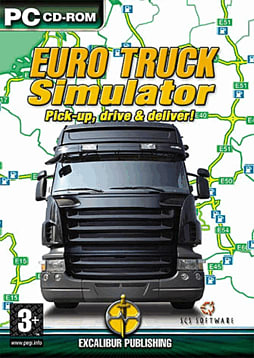 Euro Truck Simulator PC Games Cover Art