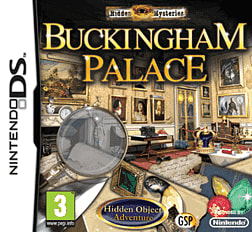 Hidden Mysteries: Buckingham Palace DSi and DS Lite Cover Art