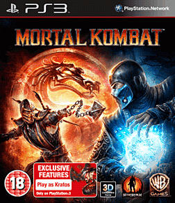 Mortal Kombat PlayStation 3 Cover Art