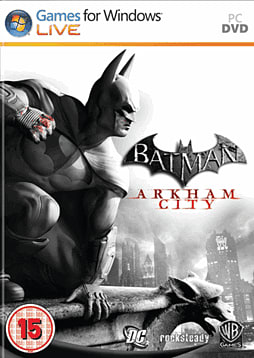 Batman: Arkham City PC Games Cover Art