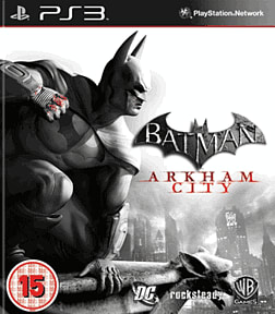 Batman: Arkham City PlayStation 3 Cover Art