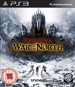 The Lord of the Rings: War in the North PlayStation 3 Cover Art