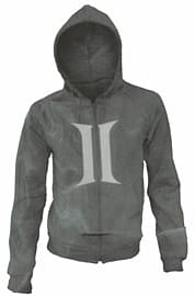 Dragon Age Grey Hoodie (Medium) Clothing and Merchandise