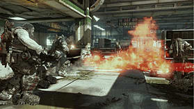 Gears Of War 3 Epic Edition (with Exclusive Preorder BONUS In-Game Downloadable Character) screen shot 1