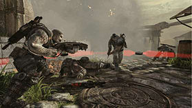 Gears Of War 3 Epic Edition (with Exclusive Preorder BONUS In-Game Downloadable Character) screen shot 2