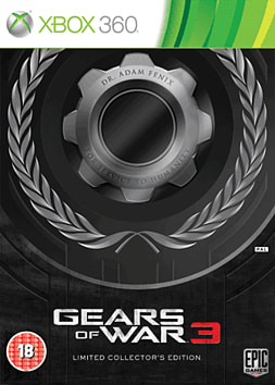 Gears Of War 3 Limited Edition Xbox 360 Cover Art