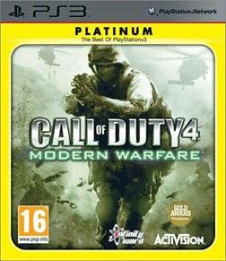 Call of Duty 4: Modern Warfare Platinum PlayStation 3