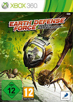 Insect Armageddon Xbox 360 Cover Art