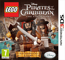 LEGO Pirates of the Caribbean 3DS Cover Art