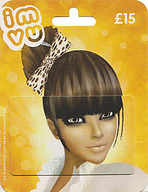 IMVU Gift Card - £15 Gifts