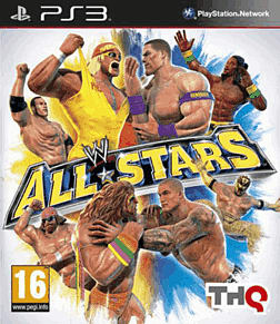 WWE All Stars PlayStation 3 Cover Art