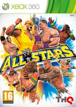 WWE All Stars XBOX 360 Cover Art