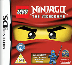 Lego Ninjago Collectors Edition DSi and DS Lite Cover Art