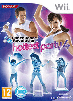 Dance Dance Revolution: Hottest Party 4 Wii Cover Art