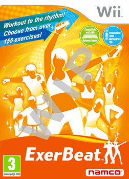 Exerbeat: Gym Class Workout Wii Cover Art