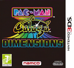 Pacman and Galaga Dimensions 3DS