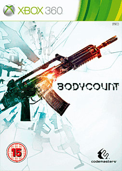 Bodycount Xbox 360 Cover Art