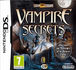 Hidden Mysteries Vampire Secrets DSi and DS Lite