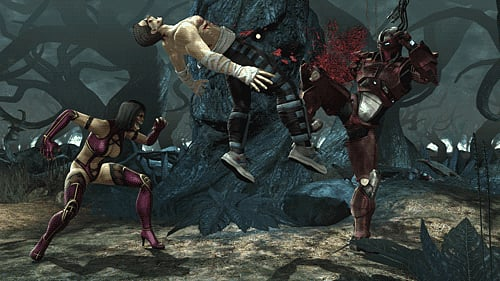 Mortal Kombat on Xbox 360 and PlayStation 3 at GAME