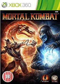 Mortal Kombat XBOX 360 Cover Art
