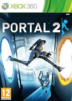 Portal 2 XBOX 360 Cover Art