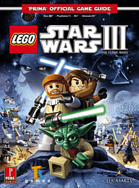 Lego Star Wars 3: The Clone Wars Strategy Guide Strategy Guides and Books