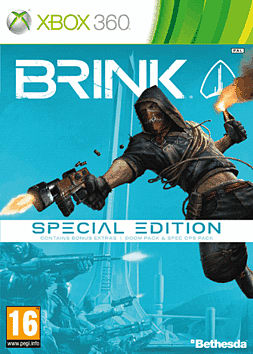 Brink Special Edition Xbox 360 Cover Art
