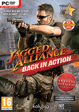 Jagged Alliance: Back in Action Exclusive Special Edition PC Games Cover Art