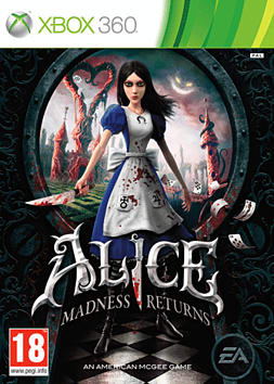 Alice: Madness Returns Xbox 360 Cover Art