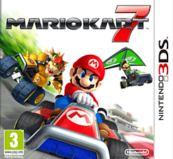 Mario Kart 7 3DS Cover Art