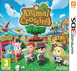 Animal Crossing: New Leaf 3DS Cover Art