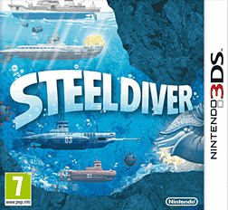 STEEL DIVER 3DS Cover Art