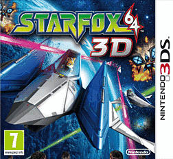 Star Fox 64 3D 3DS Cover Art