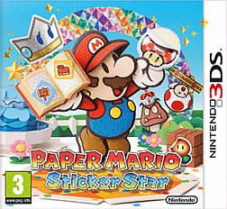 Paper Mario: Sticker Star 3DS Cover Art