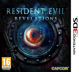 Resident Evil Revelations 3DS Cover Art