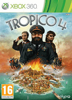 Tropico 4 Xbox 360 Cover Art