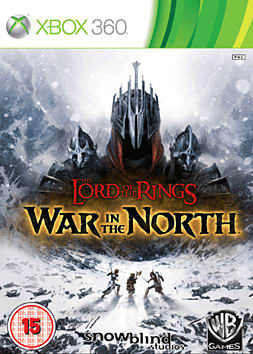 The Lord of the Rings: War in the North Xbox 360 Cover Art