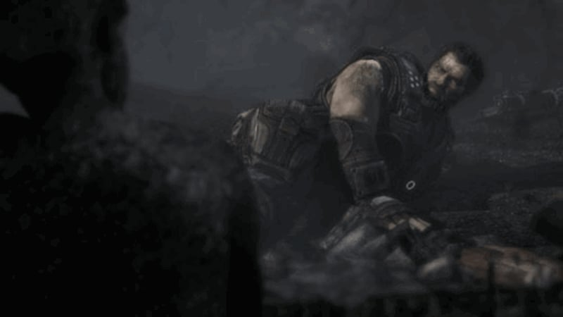 Gears of War 3 - hugely detailed environments