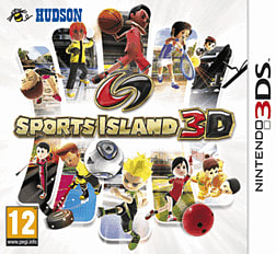 Sports Island 3D 3DS Cover Art