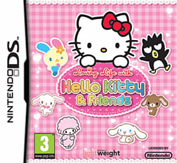 Hello Kitty Loving Life DSi and DS Lite Cover Art