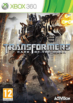 Transformers: Dark of the Moon Xbox 360 Cover Art