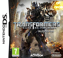 Transformers: Dark of the Moon DSi and DS Lite Cover Art