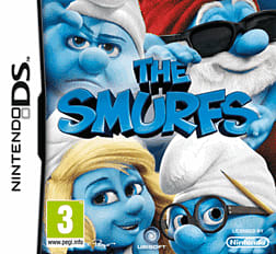 The Smurfs DSi and DS Lite Cover Art