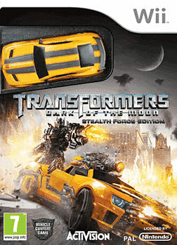 Transformers: Dark of the Moon - Stealth Force Edition (with car) Wii