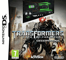 Transformers: Dark of the Moon - Decepticons (with car) DSi and DS Lite